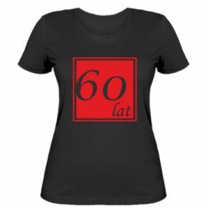 Damska koszulka 60 lat