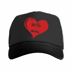 Trucker hat 82% sure