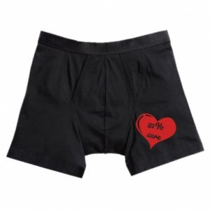 Boxer trunks 82% sure