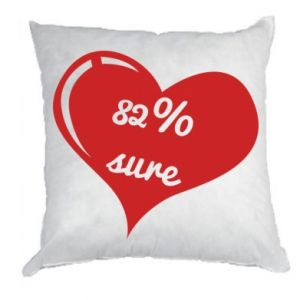 Pillow 82% sure