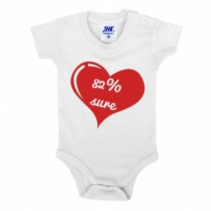 Baby bodysuit 82% sure