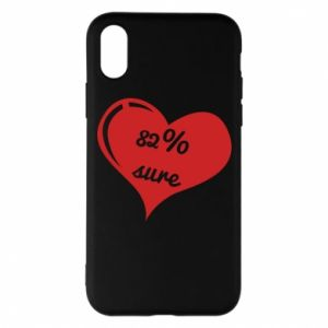 Phone case for iPhone X/Xs 82% sure