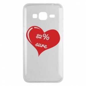 Phone case for Samsung J3 2016 82% sure