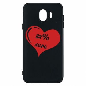 Phone case for Samsung J4 82% sure