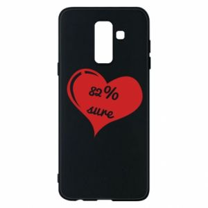 Phone case for Samsung A6+ 2018 82% sure
