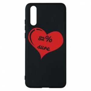 Phone case for Huawei P20 82% sure