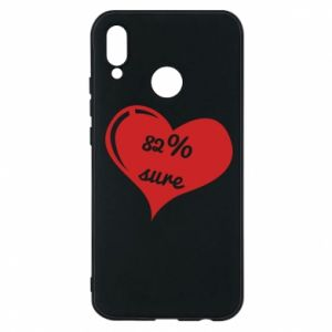 Phone case for Huawei P20 Lite 82% sure