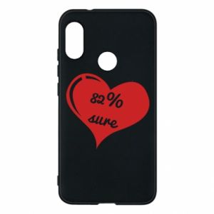 Phone case for Mi A2 Lite 82% sure
