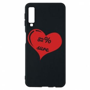 Phone case for Samsung A7 2018 82% sure