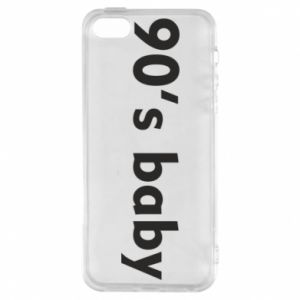 Etui na iPhone 5/5S/SE 90's baby