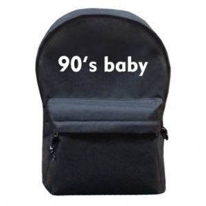 Plecak z przednią kieszenią 90's baby