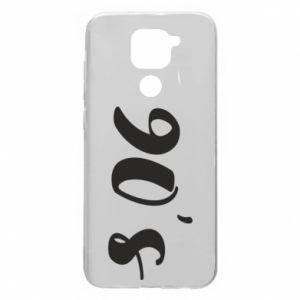 Xiaomi Redmi Note 9 / Redmi 10X case % print% 90's