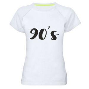 Damska koszulka sportowa 90's