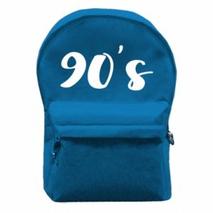 Backpack with front pocket 90's