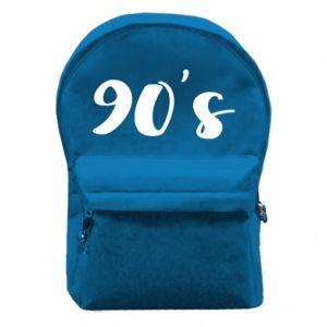 Plecak z przednią kieszenią 90's