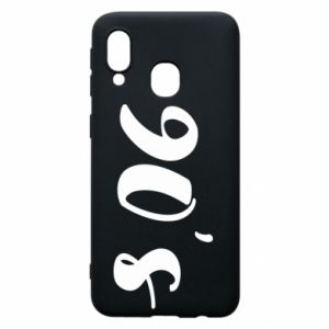 Phone case for Samsung A40 90's
