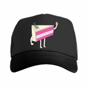 Trucker hat Cake welcomes - PrintSalon