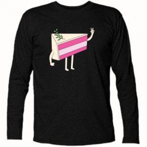Long Sleeve T-shirt Cake welcomes - PrintSalon