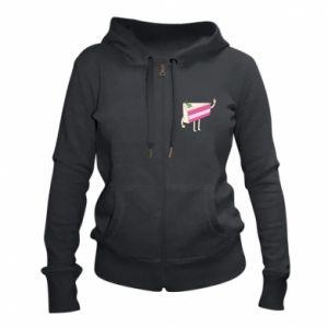 Women's zip up hoodies Cake welcomes - PrintSalon