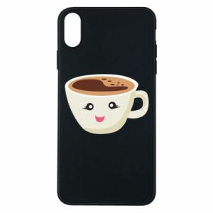 Etui na iPhone Xs Max A cup of coffee