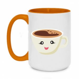 Kubek dwukolorowy 450ml A cup of coffee
