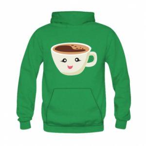 Bluza z kapturem dziecięca A cup of coffee