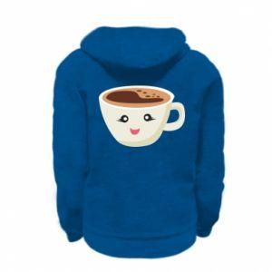 Bluza na zamek dziecięca A cup of coffee