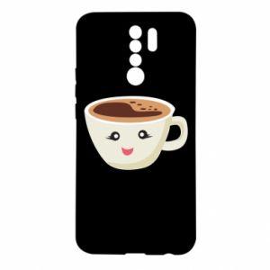 Etui na Xiaomi Redmi 9 A cup of coffee