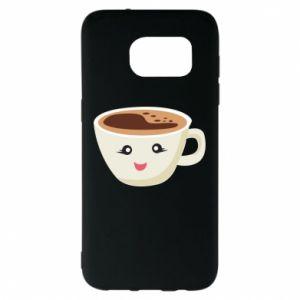 Etui na Samsung S7 EDGE A cup of coffee