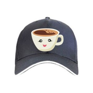 Cap A cup of coffee