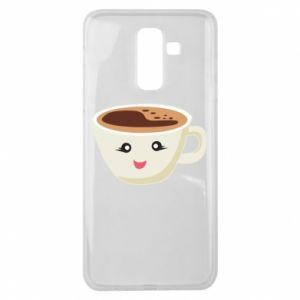 Etui na Samsung J8 2018 A cup of coffee