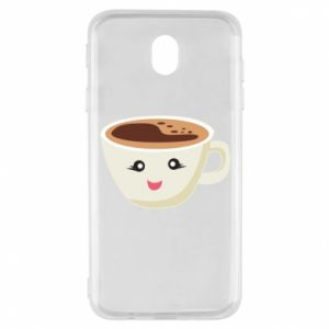 Etui na Samsung J7 2017 A cup of coffee