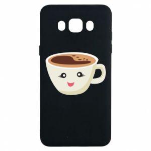 Etui na Samsung J7 2016 A cup of coffee