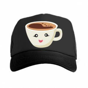 Czapka trucker A cup of coffee
