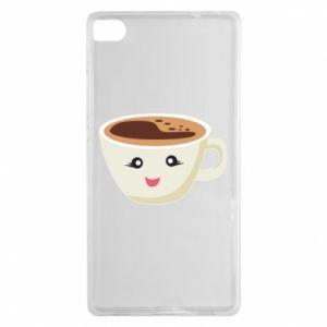 Etui na Huawei P8 A cup of coffee