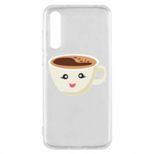 Etui na Huawei P20 Pro A cup of coffee