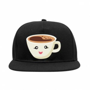 Snapback A cup of coffee