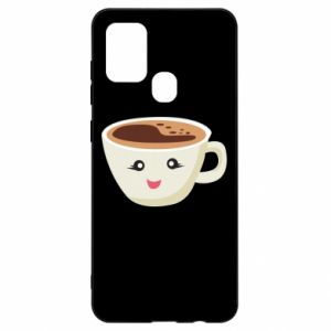 Etui na Samsung A21s A cup of coffee