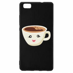 Etui na Huawei P 8 Lite A cup of coffee
