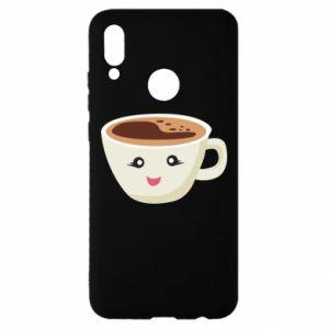 Etui na Huawei P Smart 2019 A cup of coffee