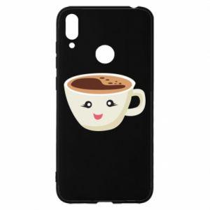 Etui na Huawei Y7 2019 A cup of coffee