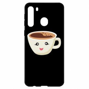 Etui na Samsung A21 A cup of coffee