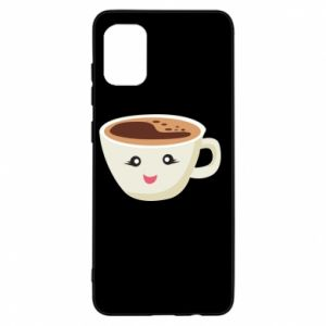 Etui na Samsung A31 A cup of coffee