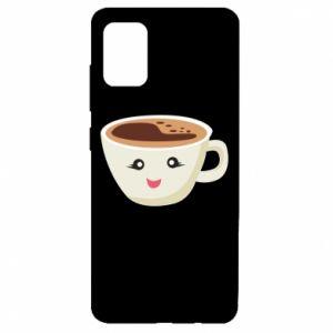 Etui na Samsung A51 A cup of coffee