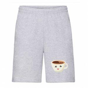 Szorty męskie A cup of coffee