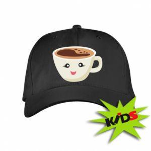 Czapeczka z daszkiem dziecięca A cup of coffee