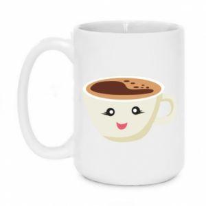 Mug 450ml A cup of coffee - PrintSalon