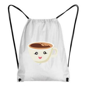 Plecak-worek A cup of coffee