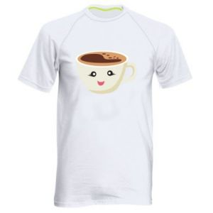 Koszulka sportowa męska A cup of coffee