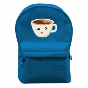 Plecak z przednią kieszenią A cup of coffee
